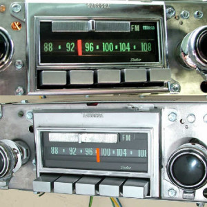 1970 Corvette AM FM Stereo1
