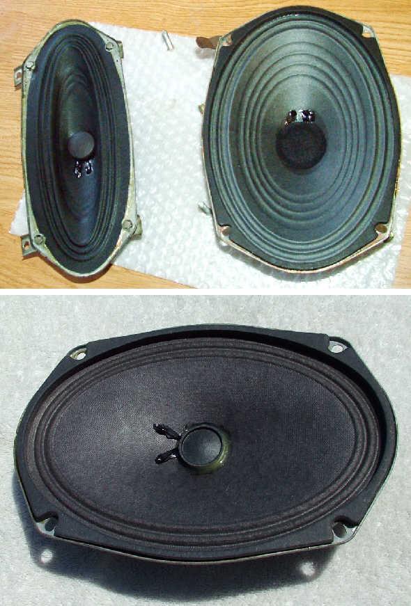 Car speaker repair service reconing restoration refurbish Delco GM